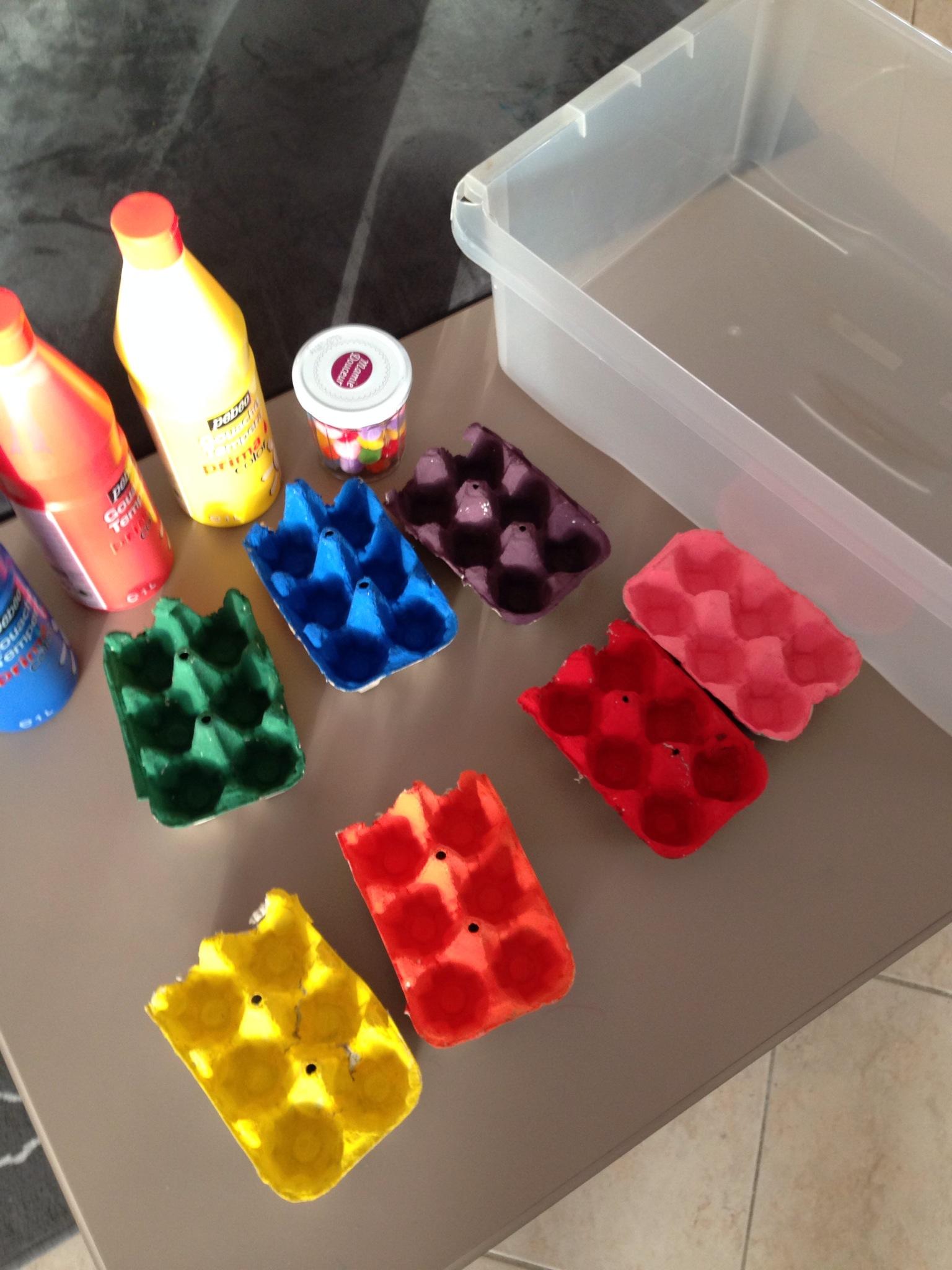 Super Activités pour les enfants: trier les couleurs | Les mercredis  TL01