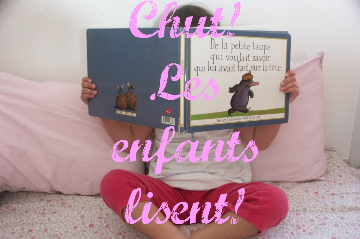 Chut! les enfants lisent! La partie de cache-cache (éditions Hélium)
