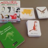 Découvrir le monde#4 avec Mon coffret Montessori des animaux