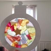 Décos de Noël pour les fenêtres