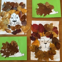 Kids Activity: collage et feuilles d'automne