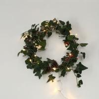 DIY de Noël #3 Une couronne de lierre