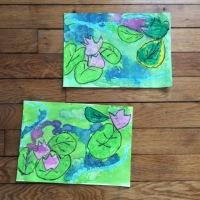Peindre à la manière de ... Claude Monet #3