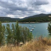 Sortie en famille: le lac de Sainte-Croix (83)