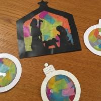 Kids Activity: Vitraux de Noël