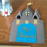 Anniversaire chevalier: les invitations (DIY)