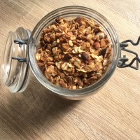 En cuisine: granola