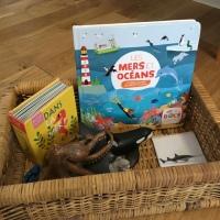 Panier de découverte: les animaux de la mer
