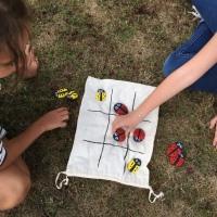 DIY: Jeu du morpion avec des galets