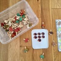 Kids activity: des jeux home-made pour apprendre à compter