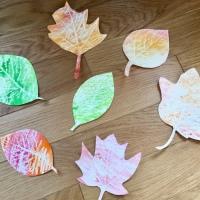 Kids Activity: feuilles d'automne magiques!