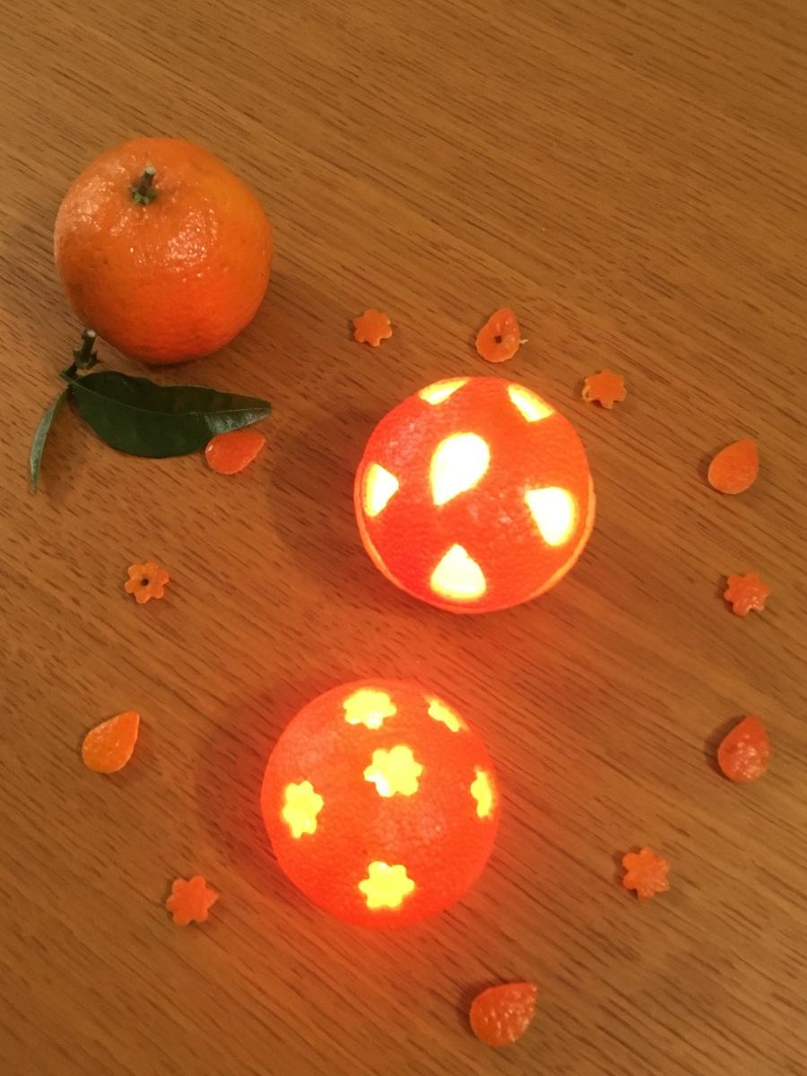 Les bougies-clémentines