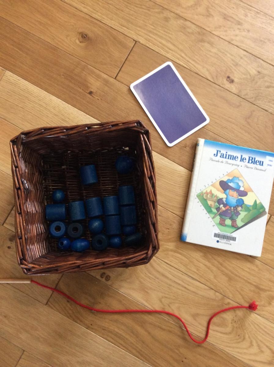 Baby Activity: à la découverte des couleurs