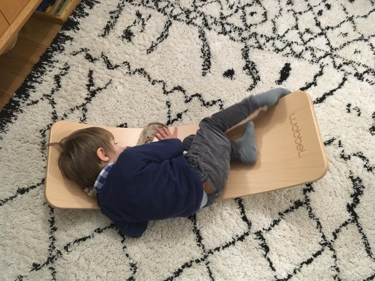 Planche d'équilibre Wobbel