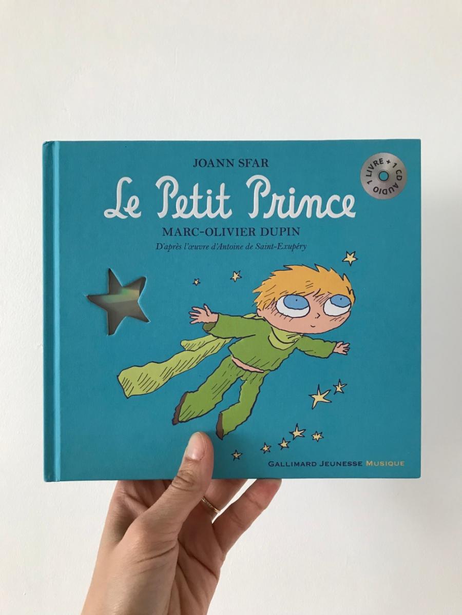 Le Petit Prince (éditions Gallimard Jeunesse Musique)