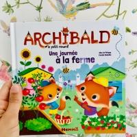 Chut! les enfants lisent! Archibald Une journée à la ferme (éditions Hemma)