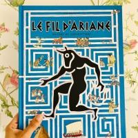 Le fil d'Ariane mythes et labyrinthes (éditions La Joie de Lire)