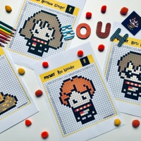 Kids Activity : Pixel Art Harry Potter