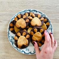 Biscuits : pattes de loup