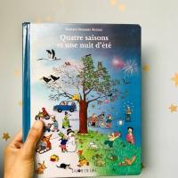 Quatre saisons et une nuit d'été (éditions La Joie de Lire)